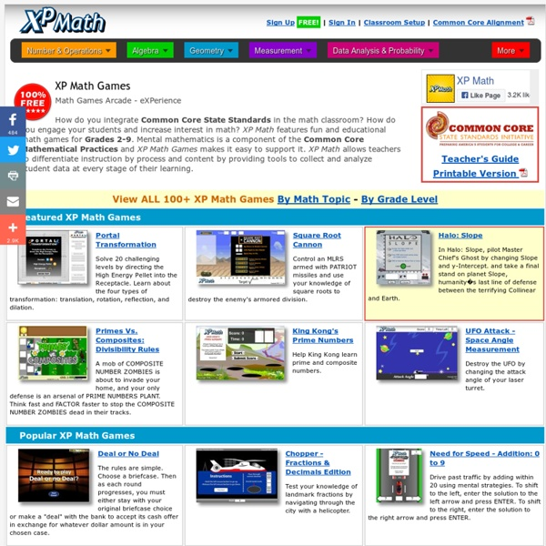 FREE Math Games - Common Core Math