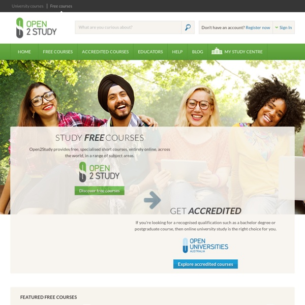 OPEN2STUDY - FREE Online Study For Everyone - NEVER STOP LEARNING