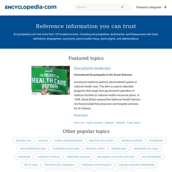 Free Online Encyclopedia