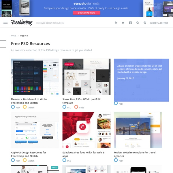 Free PSD for web designers