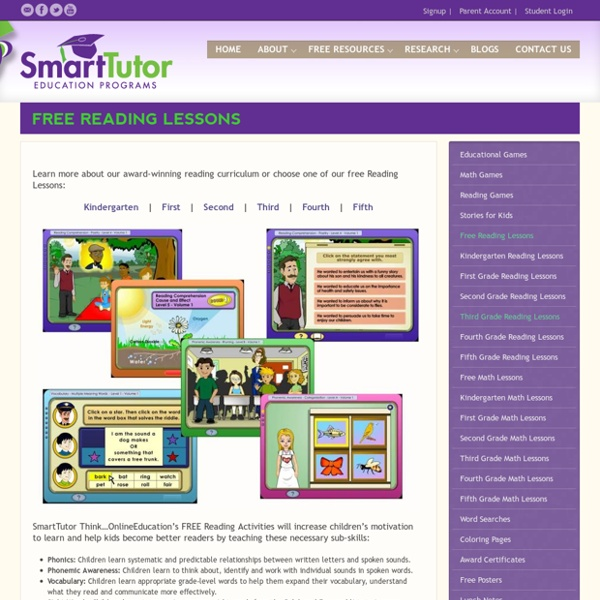 Free Reading Lessons