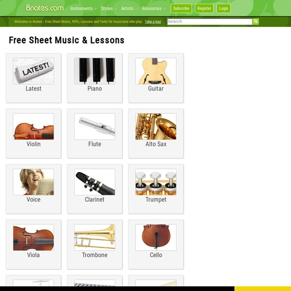 Free sheet music on 8notes.com