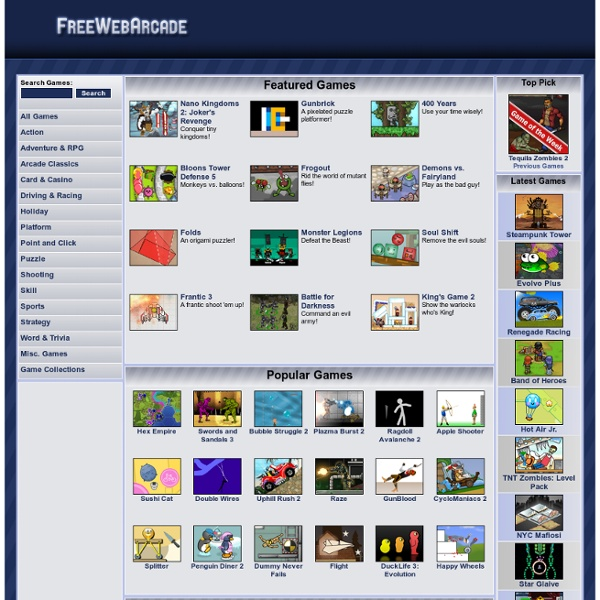 web games online free