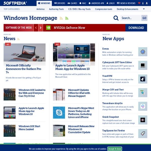 Free Windows Downloads - Softpedia