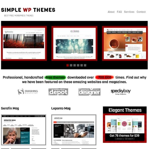 Free wp themes 2014