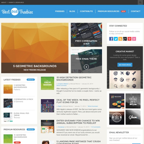 Top Freebies PSD