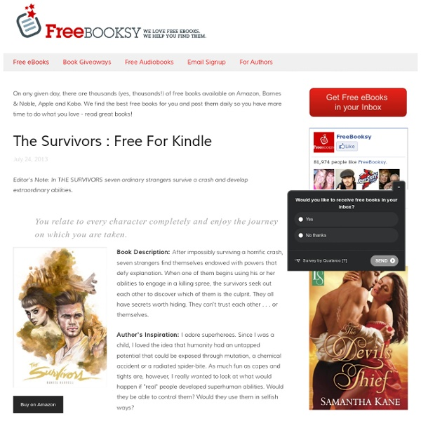 Free eBooks - Freebooksy - Free Kindle books, Free Nook Books