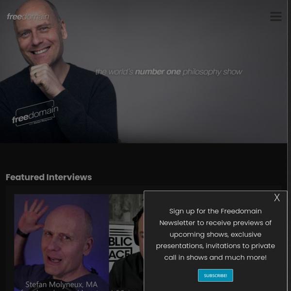 Freedomain Radio – The Home Page
