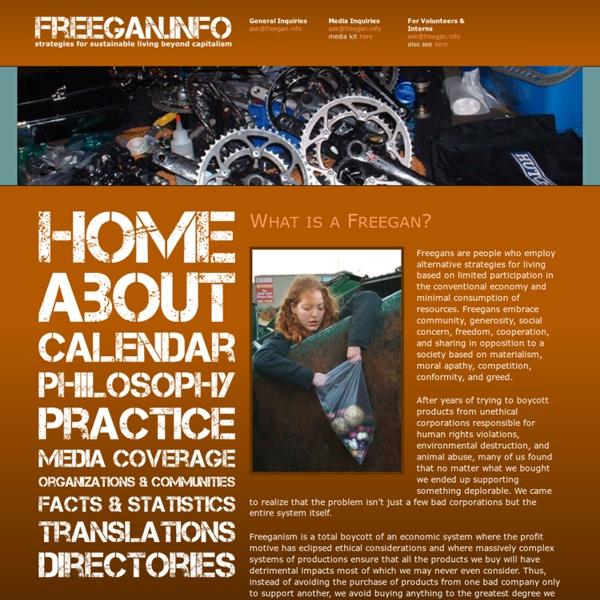 : freegan.info
