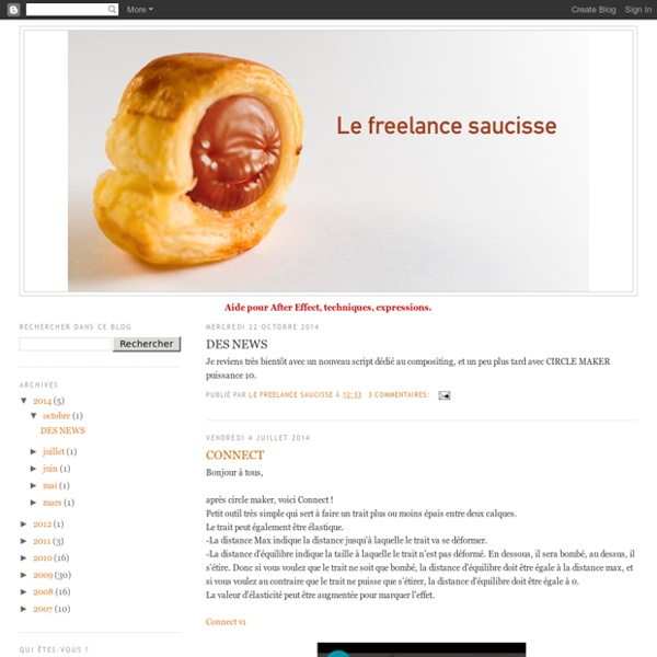Le freelance saucisse-after-effect-expressions