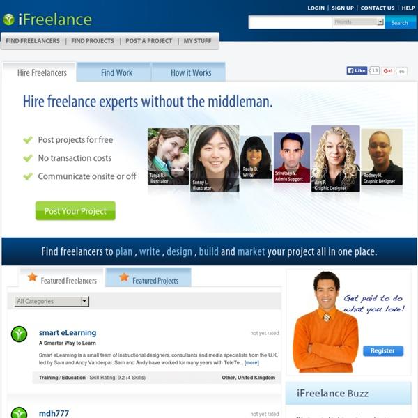 Find Freelance Jobs & Freelancers - iFreelance.com