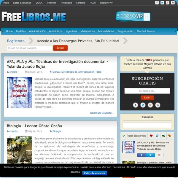 FreeLibros - Tu Biblioteca Virtual