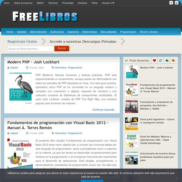 FreeLibros – Tu Biblioteca Virtual