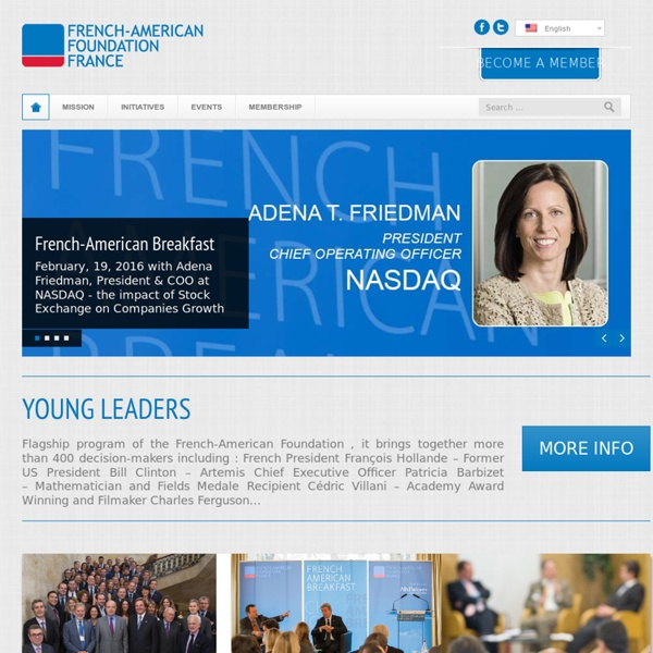 French American Foundation France