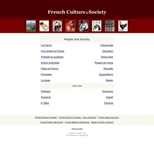 French Culture and Society