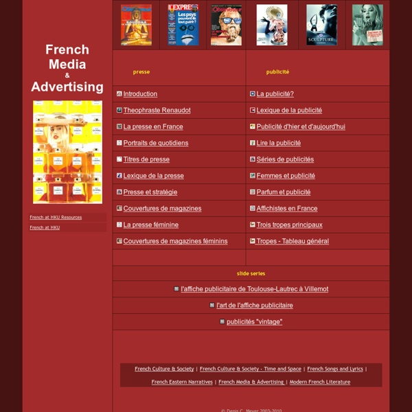 French Media & Advertising