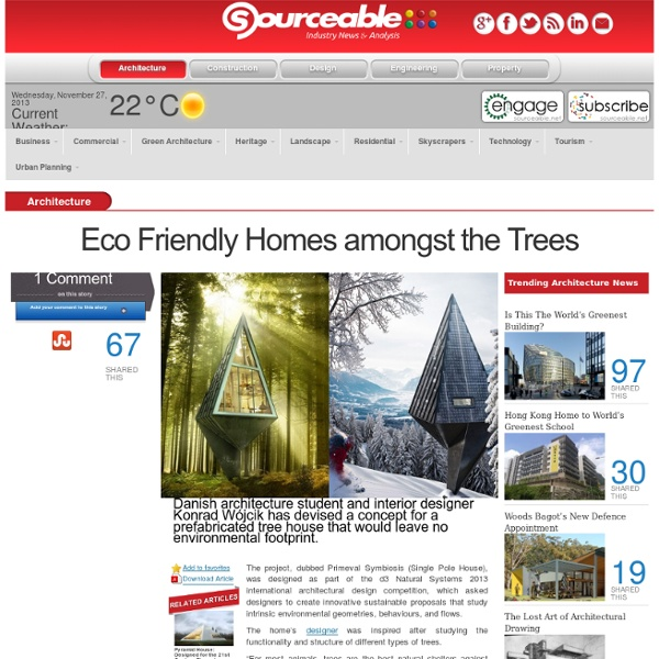 Eco Friendly Homes Amongst the Trees