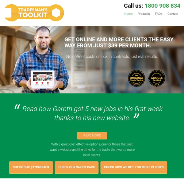Mobile Friendly Websites For Tradies