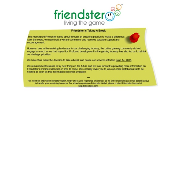 Free Online Games at Friendster