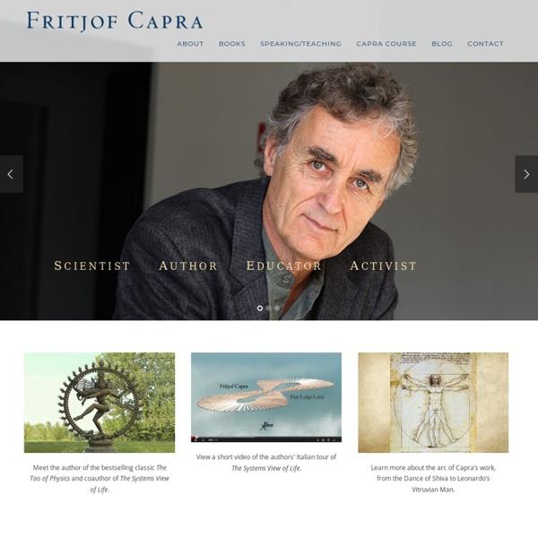 Fritjof Capra - Home