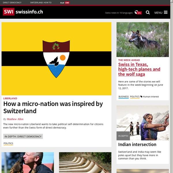 Swissinfo - Plateforme suisse d'informations - Nouvelles, radio, téléjournal, politique, sport, météo