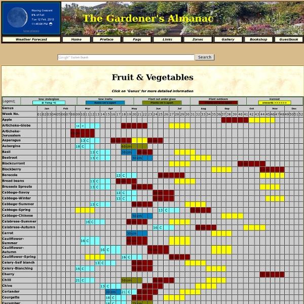 Fruit & Veg planner
