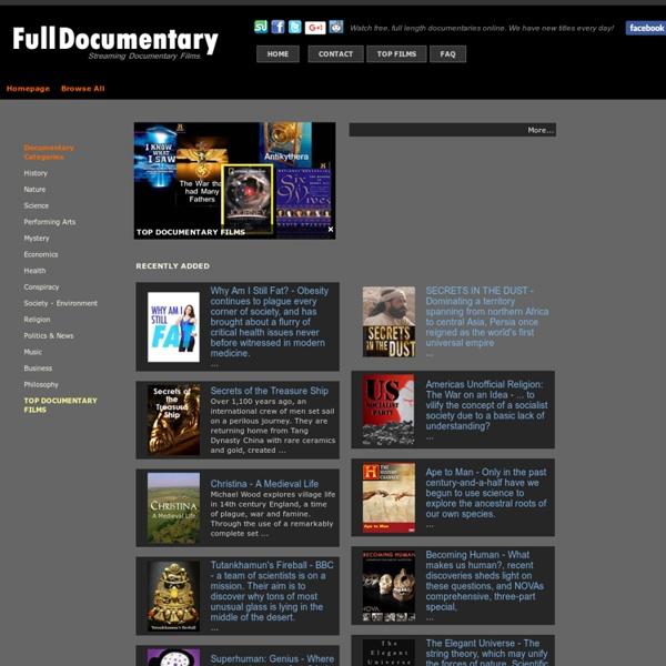 Www.fulldocumentary.net -