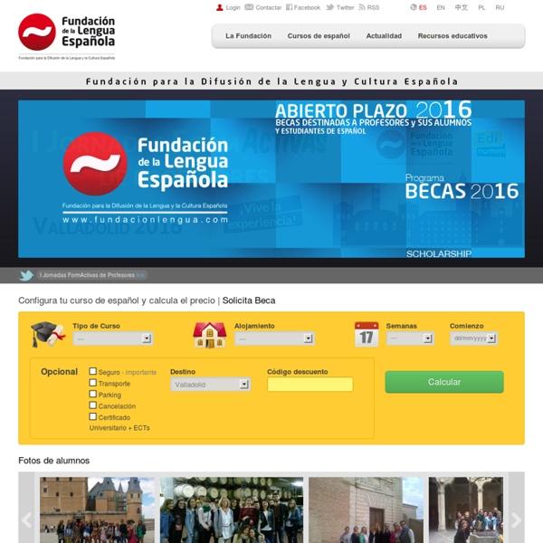 Fundación de la Lengua Española - Aprende español con nuestros cursos, clases y recursos educativos.