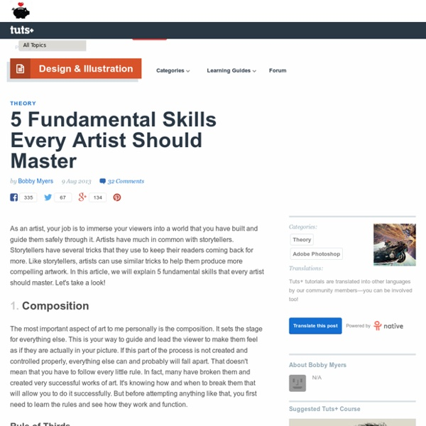 5 Fundamental Skills Every Artist Should Master