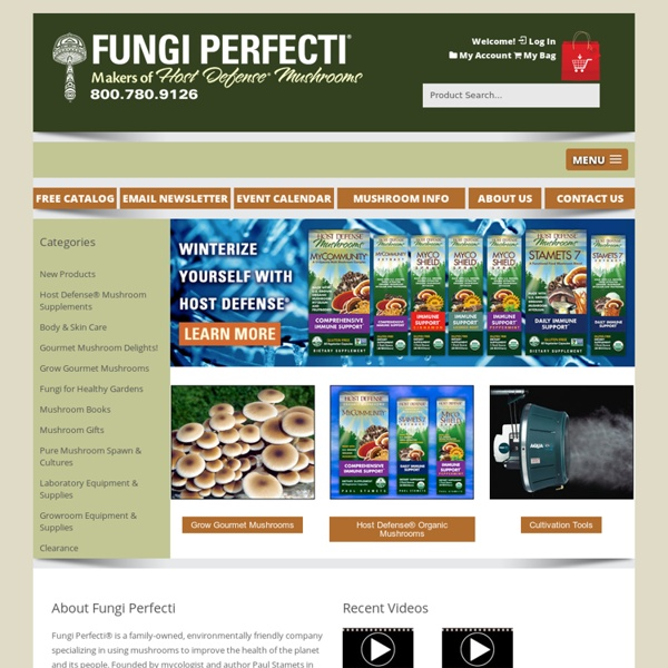Fungi Perfecti - Fungi.com