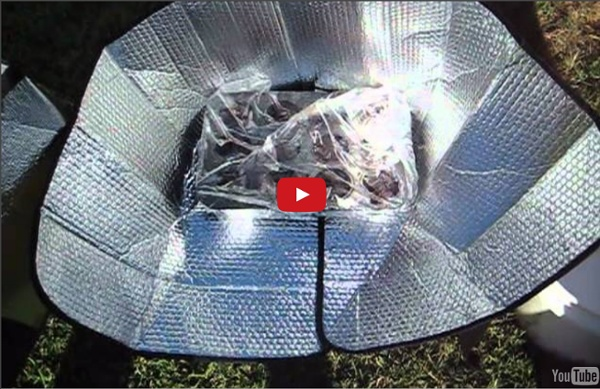 Make A Solar Oven For $5