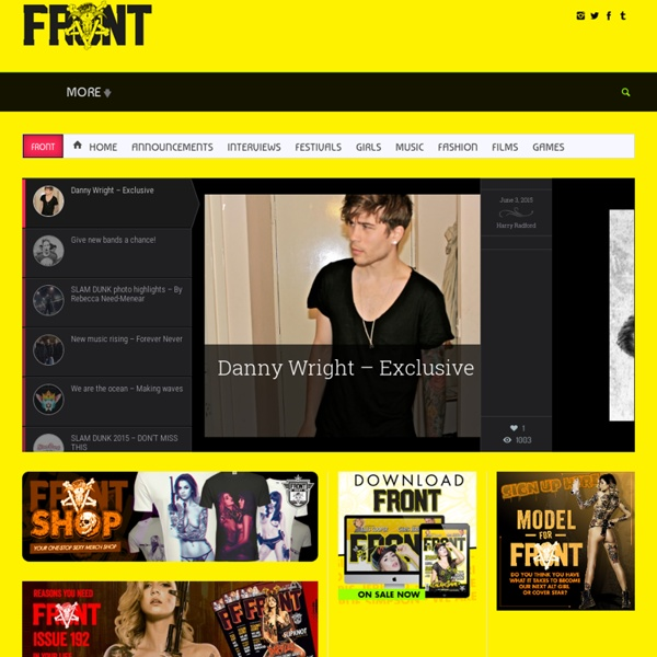 FRONT - The funniest, sexiest magazine on Earth