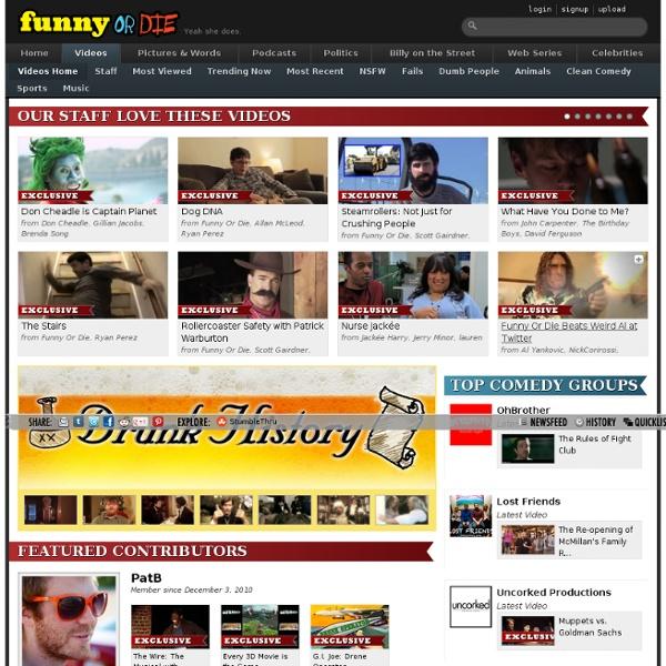 Funny or Die - Videos