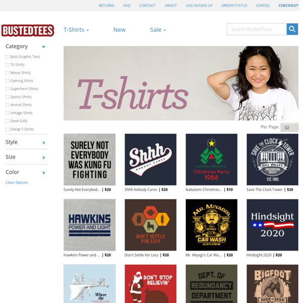 BustedTees - Funny T-Shirts - New T-Shirt designs every week - Crazy Tees Hilarious Cool Shirts