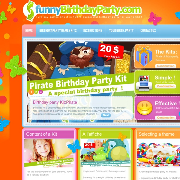 Birthday Party For Kids - Funny Birthday Party
