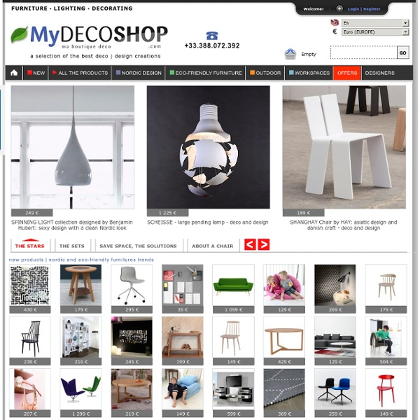 My-deco-shop.com - Furnitures Lighting Sofa Bedrooms Decoration Outdoor (En)