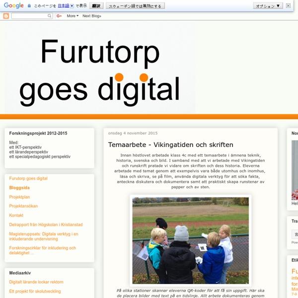 Furutorp goes digital
