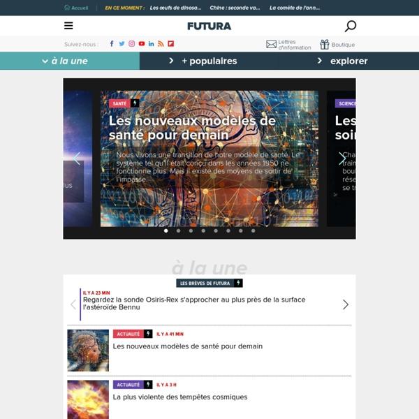 Au coeur de la science avec Futura-Sciences