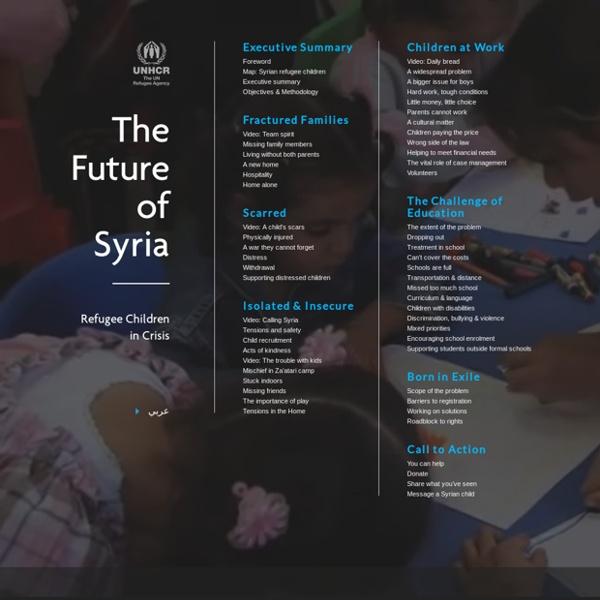 Refugee Children in Crisis