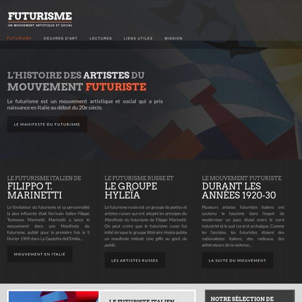 Futurisme, un mouvement artistique et social