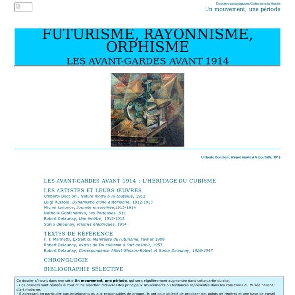 Futurisme, Rayonnisme, Orphisme