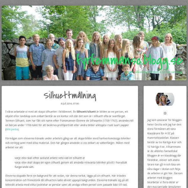 Fyrfemmansc.blogg.se - Silhuettmålning