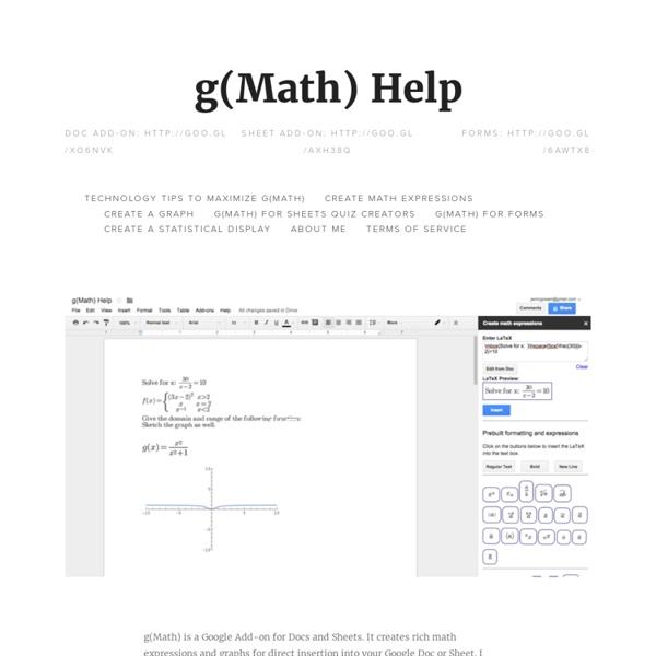 G(Math)