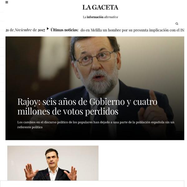 Diario de noticias y análisis de Intereconomía