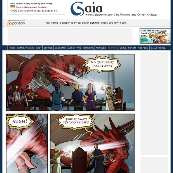 Fantasy Webcomic Comic Graphic Novel