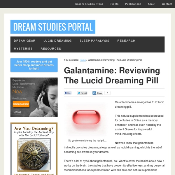 a review of lucid dreaming Find helpful customer reviews and review ratings for rem dreamer lucid  dreaming induction device at amazoncom read honest and unbiased product .