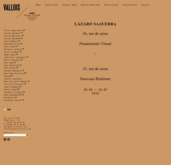 Galerie Georges-Philippe & Nathalie Vallois