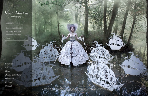 Galleries - Kirsty Mitchell Photography