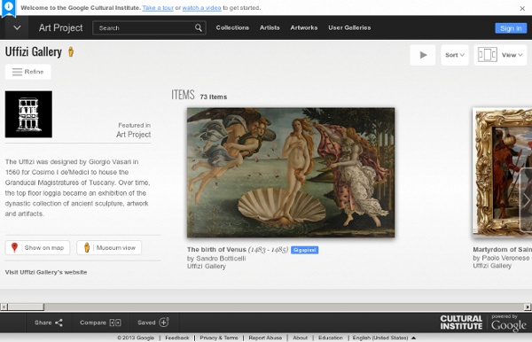 The Birth of Venus (Sandro Botticelli) : Uffizi Gallery