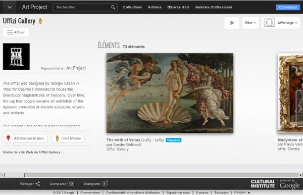 Gallerie des musées de Florence